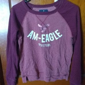 Red American Eagle Sweatshirt